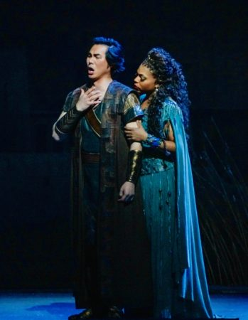 Kristin Lewis in Aida at the Met.